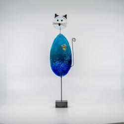Glaskunst -Unika glas Kat