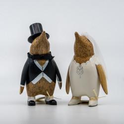 Edo Pingviner Brudepar