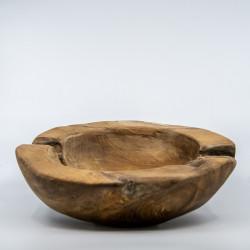 Træskål i Natur træ - Stor