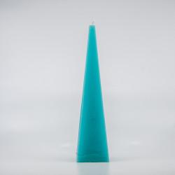 Pyramide Lys - Turkis 35 cm