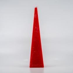 Pyramide Lys - Rød 25 Cm