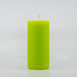 Blok Lys - Lime grøn 10 cm