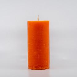 Blok Lys - Orange  10 cm