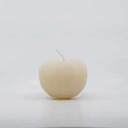 Blok Lys - Creme - 6 cm Ø