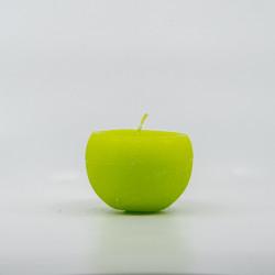 Kugle Lys - Lime grøn - 8 cm Ø