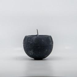 Blok Lys - Grå - 6 cm Ø