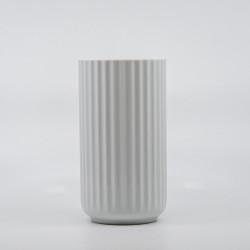 Lyngby Vasen - Hvid 20 cm