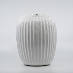 Hammershoi Vase - Hvid - 21 cm