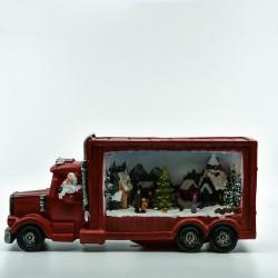 Julelastbil med LED og Musik